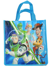 "Toy Story 4 Forky Key Chain & 10"" Tote Bag & 3D Stickers (20-CT) 3-Piece Set"