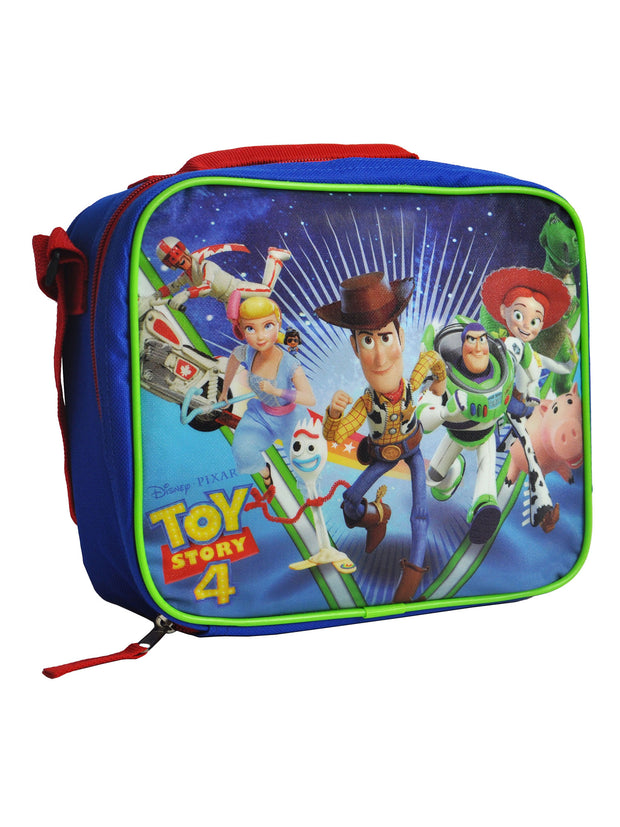 Toy Story 4 Insulated Lunch Bag Forky Bo Peep Woody w/ Snack Container Set