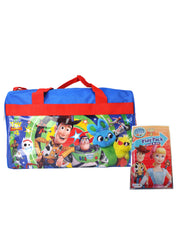 "Disney Pixar Toy Story 4 17"" Duffel Bag & Grab-n-Go Play Pack 2-Piece Set"