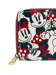 Loungefly x Disney Mickey & Minnie Mouse Women's Zip Around Wallet