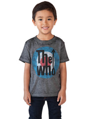 Infant & Toddler Boys The Who Rock Band T-Shirt Music Short Sleeve Burnout