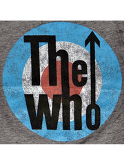 Toddler Infant Boys The Who Rock Band T-Shirt Gray Burnout Fabric