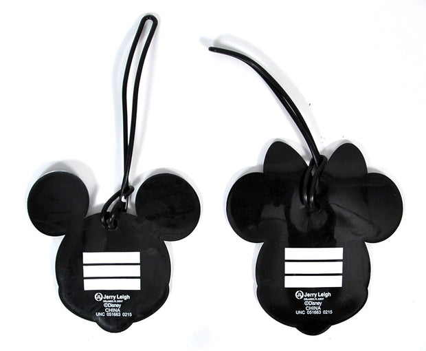 Mickey & Minnie Mouse Pants Luggage Tags 2PACK