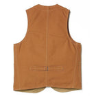 Outdoor Vest-BRN RAW