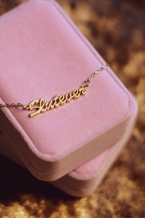 SLUTEVER NECKLACE