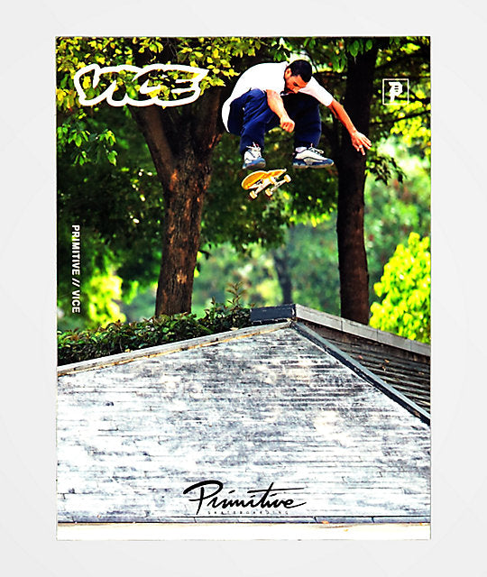 Primitive x Vice Skate Sticker