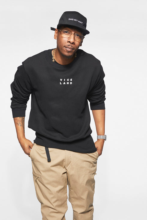 STACKED LOGO CREWNECK SWEATSHIRT