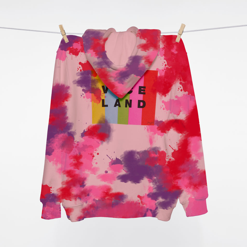 *VDAY EXCLUSIVE COLOR BAR HOODIE