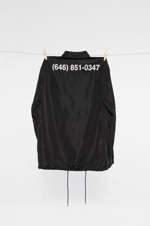 PHONE NUMBER COACH JACKET