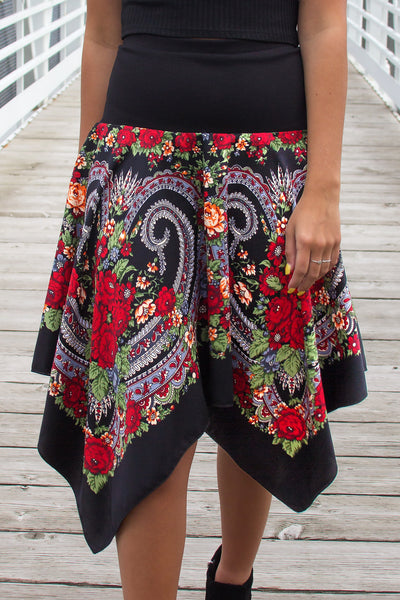 Lidia Slavic Folk Skirt