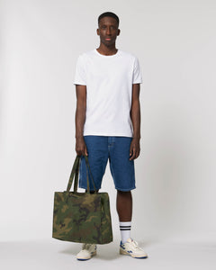 CAMO SHOPPING BAG