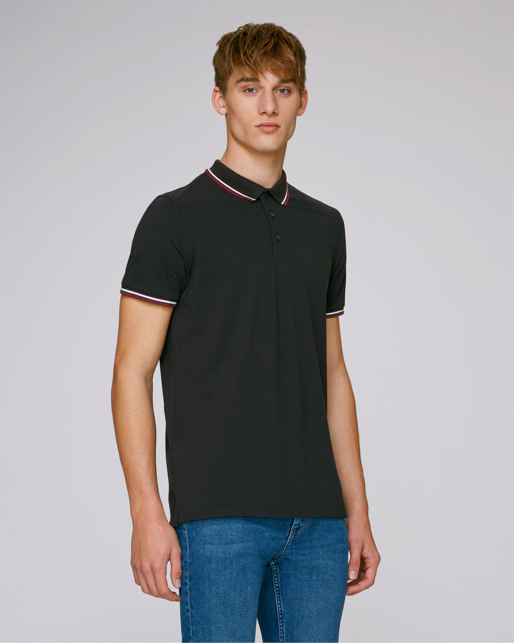 MEN'S TIPPED POLO