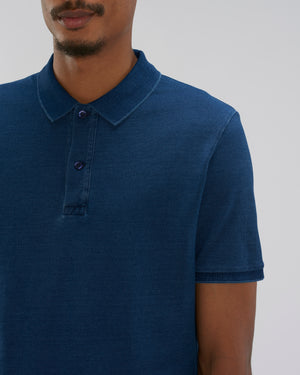 MEN'S DENIM POLO