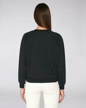 HIGH COLLAR SWEATSHIRT