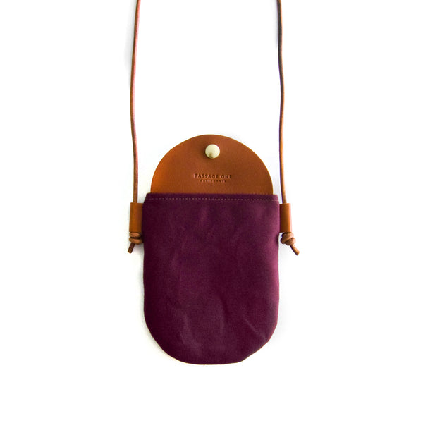 Bali Crossbody Bag - Burgundy