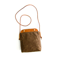Bahamas Crossbody Bag - Cinnamon Waxed