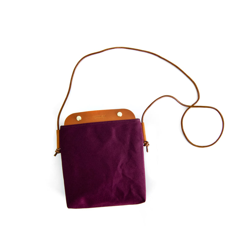 Bahamas Crossbody Bag - Burgundy