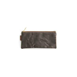 California Pouch - Dark Brown Waxed