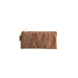 California Pouch - Cinnamon Waxed