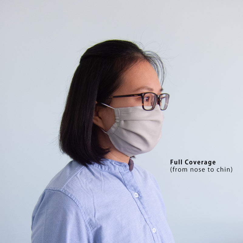 Adult Reusable Face Mask - Medium Wash Denim