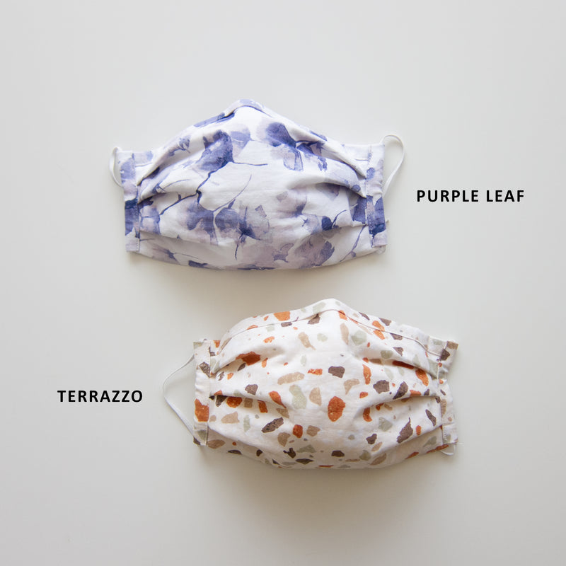 Adult Reusable Face Mask - Terrazzo