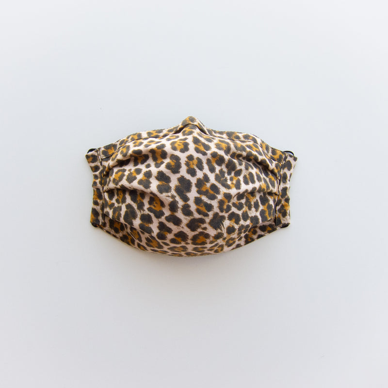 Adult Reusable Face Mask - Leopard