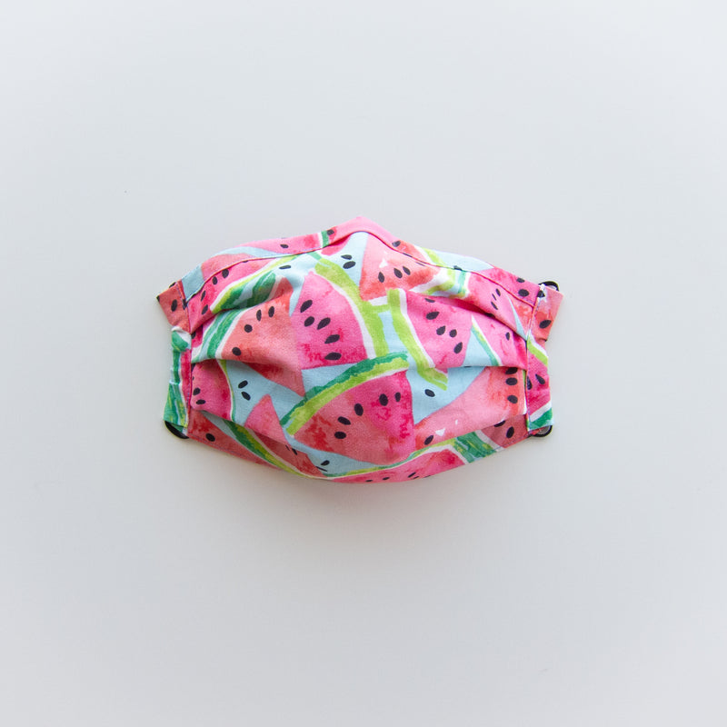 Adult Reusable Face Mask - Watermelon
