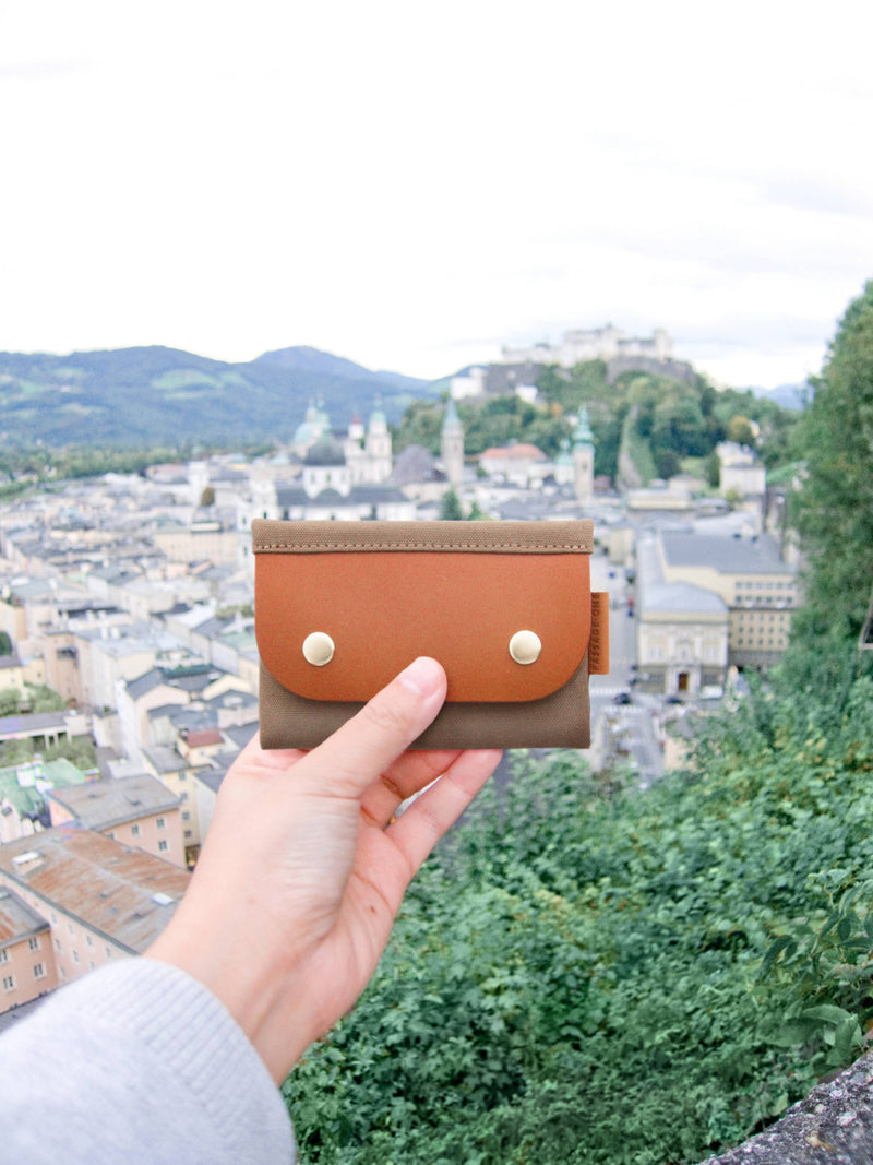 Salzburg Card Wallet - Burgundy