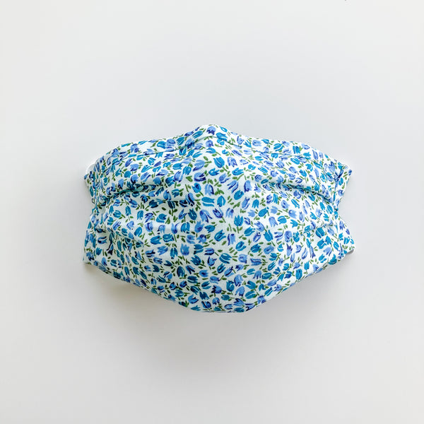 Adult Reusable Face Mask - Blue Tulip