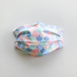 Adult Reusable Face Mask - Candy Scallop
