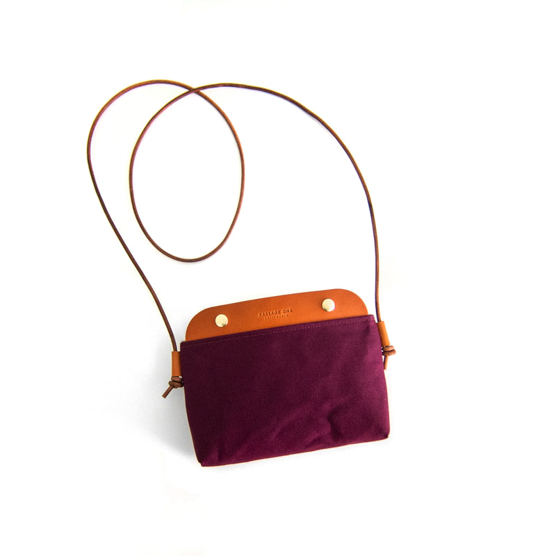 Mallorca Crossbody Bag - Burgundy