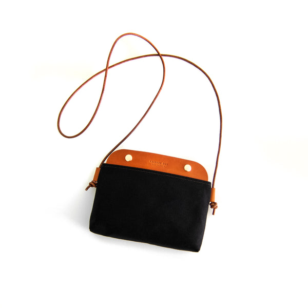 Mallorca Crossbody Bag - Black