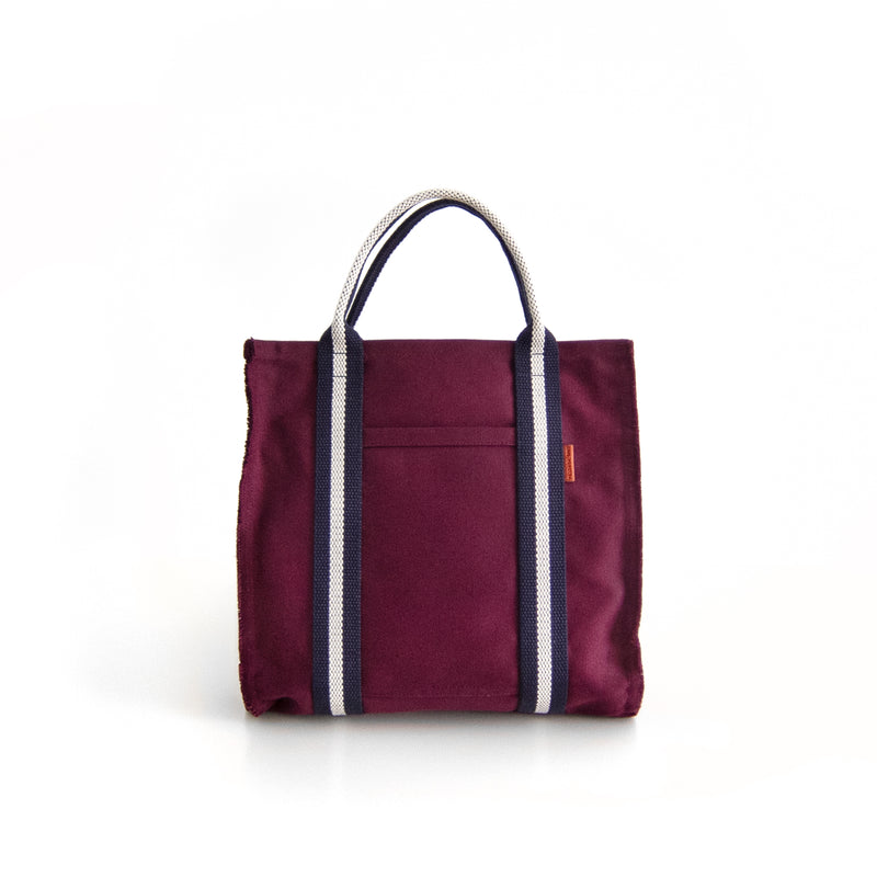 Miami Handbag - Burgundy