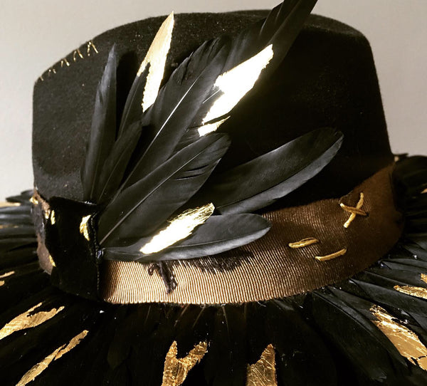 Gilded Feather Fedora