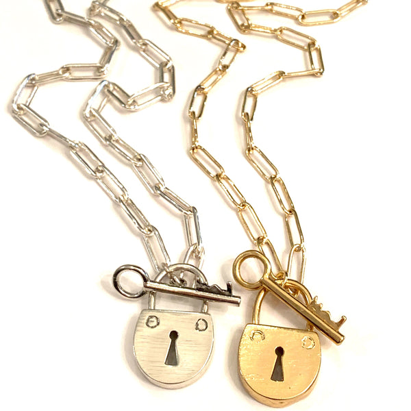 Love Lock Necklace