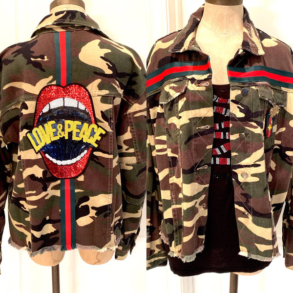 Love & Peace Camo Jacket