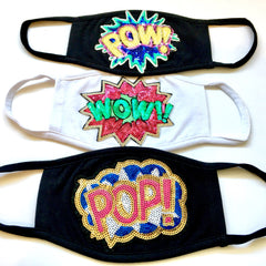 POP POW WOW Masks