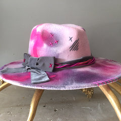 Pretty in Pink Fedora
