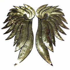 Small Sequin Wings