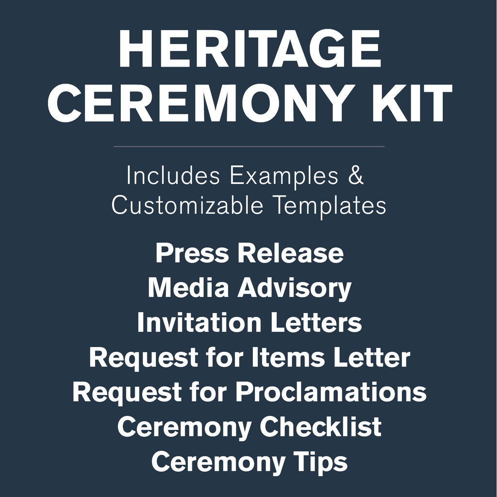Heritage Time Capsule Ceremony Kit