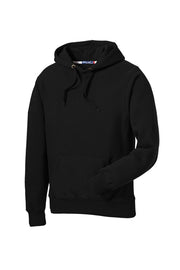 MEN'S SUPER HEAVYWEIGHT HOODED SWEATSHIRT W/ LOGO LEFT CHEST