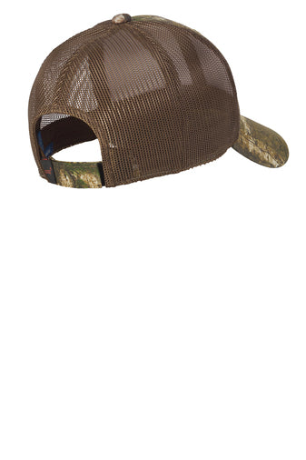 PORT AUTHORITY STRUCTURED MESH BACK CAP W/ LOGO FRONT CENTER