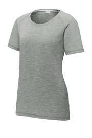 Supporter Ladies Tri-Blend Wicking Raglan Tee