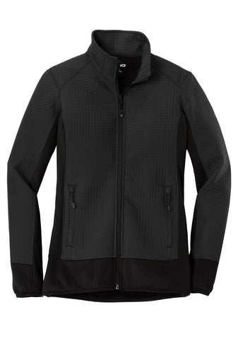 LADIES OGIO TRAX JACKET W/ LOGO LEFT CHEST