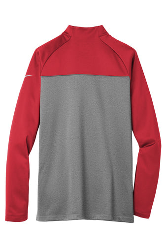 MEN'S NIKE THERMA-FIT 1/2 ZIP FLEECE W/ LOGO LEFT CHEST