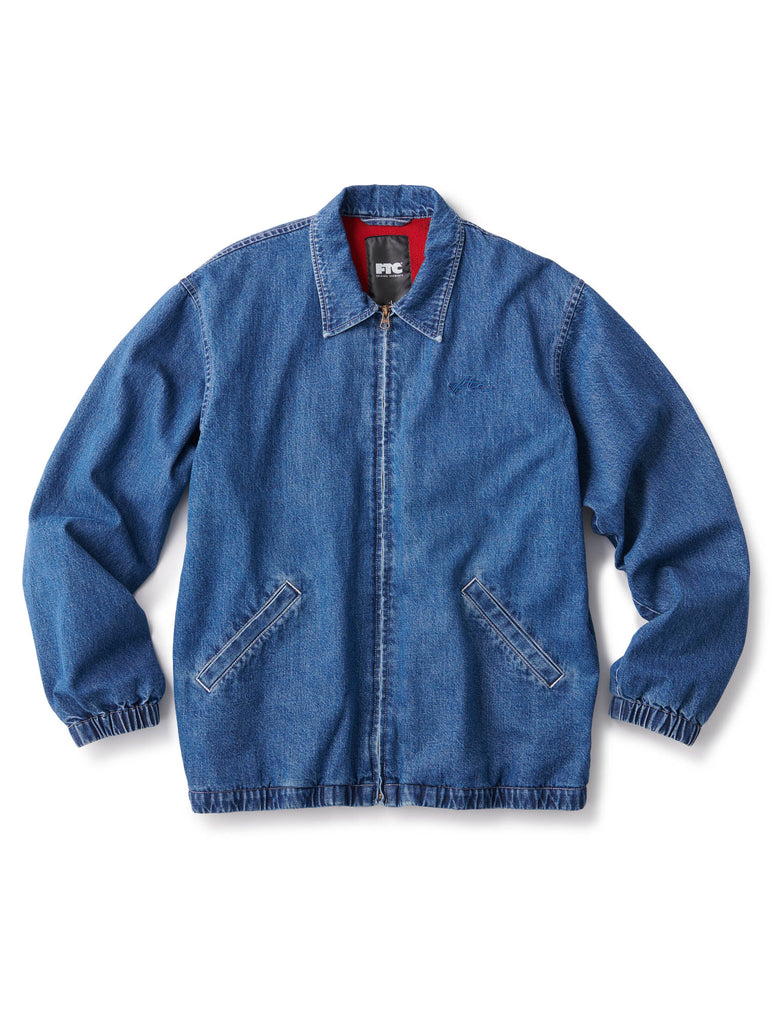 FTC DENIM HARRINGTON JACKET