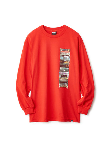 GRILL STACK LONG SLEEVE TEE WITH PHOTOS BY AL DAVIS