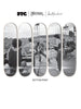 Carlos Santana X Jim Marshall x FTC Skateboard 5-Deck Set