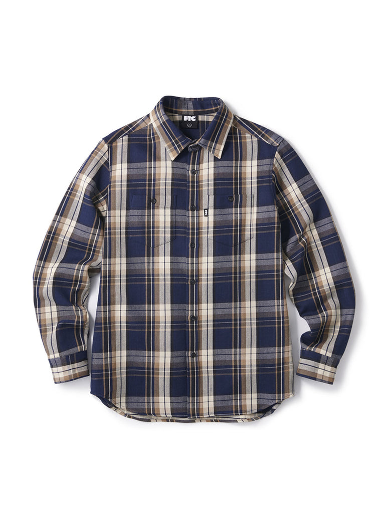 FTC HEAVY PLAID NEL SHIRT