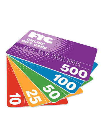 FTC ONLINE GIFT CARD